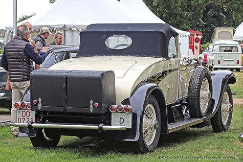 Rolls-Royce Piccadilly Tourer Convertible - 1927