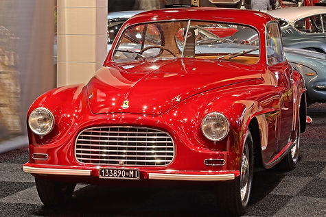Ferrari 166 Inter Coupé Touring - 1949
