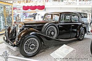 SS Jaguar Saloon - 1937