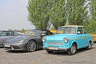 Porsche Vs. Trabant