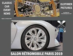 Classic Car Event News Retromobile