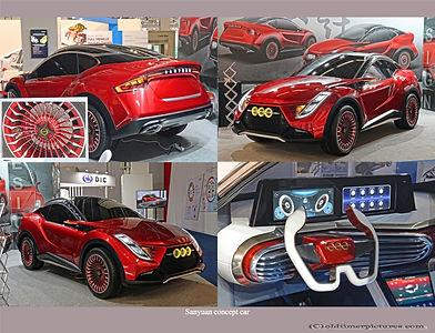 2020-Sanyuan concept car