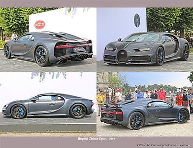 2019-Bugatti Chiron Sport
