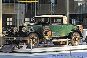 Minerva Type AE Faux Cabriolet - 1929