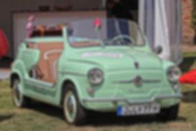 Fiat 600 Ghia Jolly - 1961