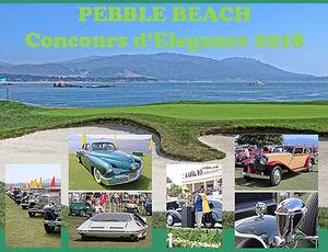 Pebble Beach Concours - 2018