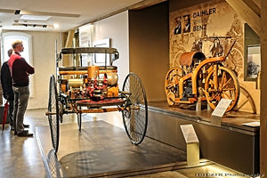 Benz Patent Motorwagen - 1886