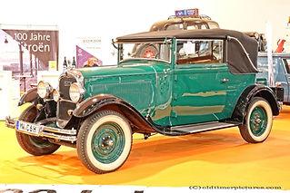 Citroën C6 - 1928