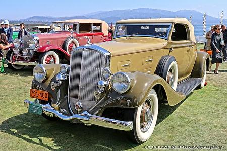 Pierce-Arrow 840A Convertible Coupé - 1935