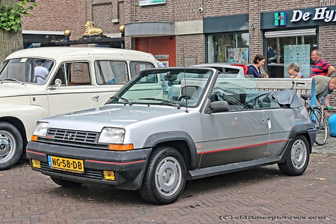 Renault 5 GT Turbo Cabriolet - 1985