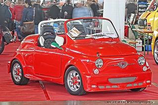 Fiat Giannini Cabriolet 500 - 1970