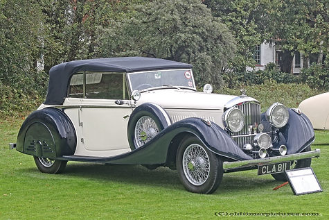 Bentley Continental Tourer 3.5 DHC by Oxborrow & Fuller - 1935
