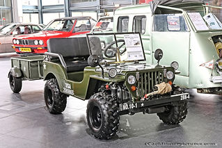 Oldtimerbeurs Genk 2019 - Willys-Jeep