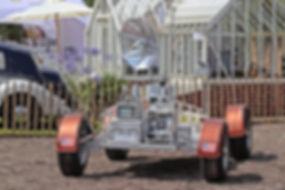 Lunar Rover Vehicle replica