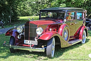 Packard 8 1001 Sedan - 1933