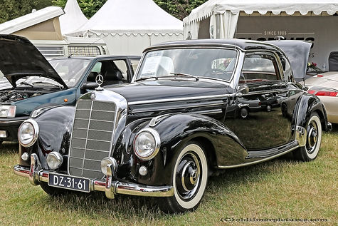 Mercedes-Benz 220 A Coupe - 1955