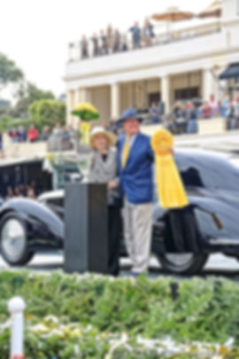 Winners of 2018 Pebble Beach Concours
