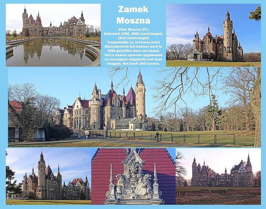 Zamek Moszna, Poland