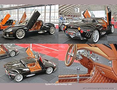 2005-Spyker C8 Spyder hardtop