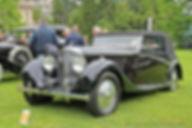 Bentley 4 1-4L Cabriolet by Antem - 1936