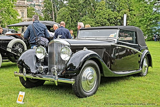 Bentley 4 1-4L Cabriolet by Antem - 1936