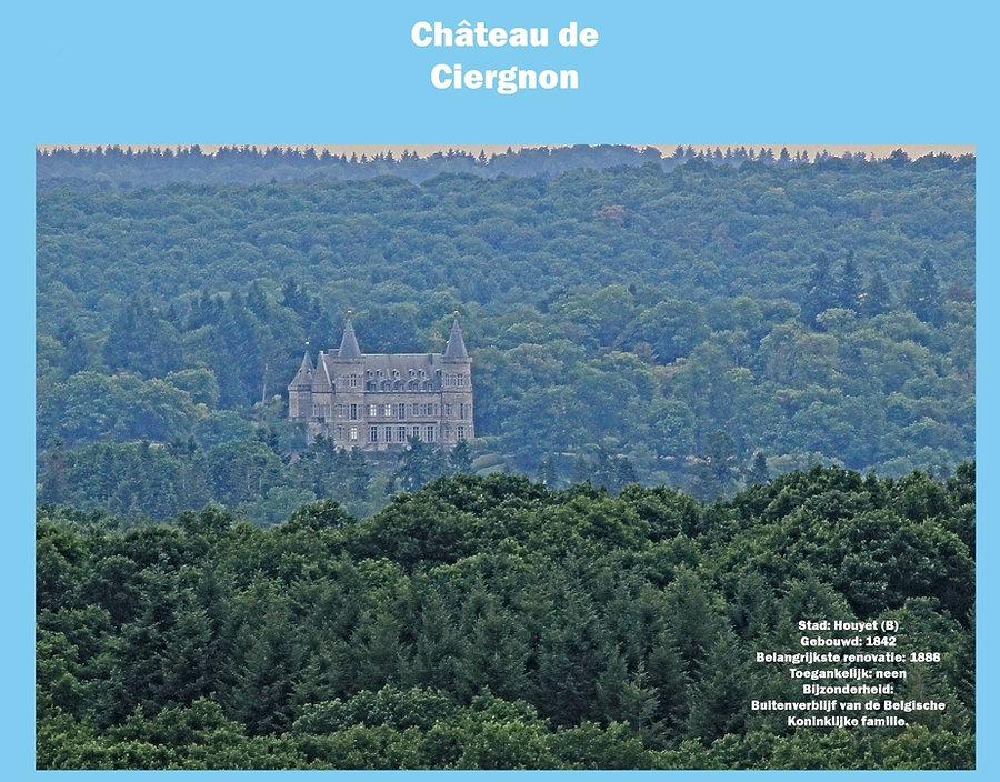 Château de Ciergnon, Belgium