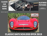 Classic Days Schloss Dyck 2019