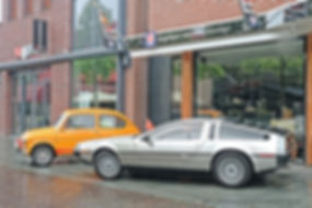 Fiat 600L 1972 - DeLorean 1982
