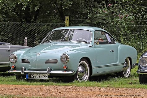VW Karmann Ghia Coupé - 1962
