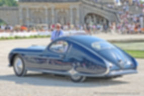 Talbot-Lago T26 Grand Sport par Figoni Fastback Coupe - 1948
