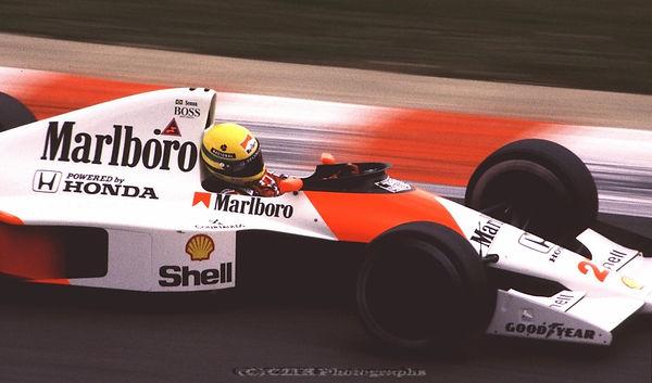 Ayrton Senna, McLaren, Spa 1990