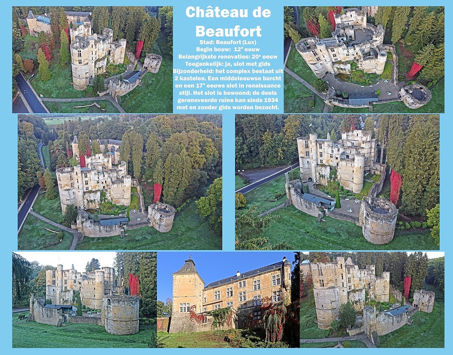 Château de Beaufort, Luxemburg