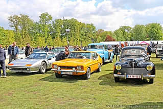 Ferrari, Ford Capri, Peugeot 203