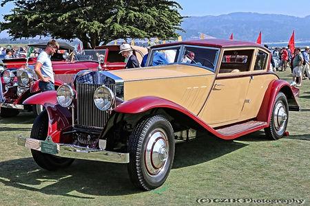 Rolls-Royce Phantom I Windblown Coupé by Brewster 1930