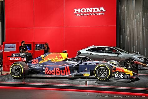 Red Bull-Honda RB14 F1 - 2018