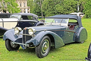 Bugatti 57S Sports Tourer by Vanden Plas - 1937