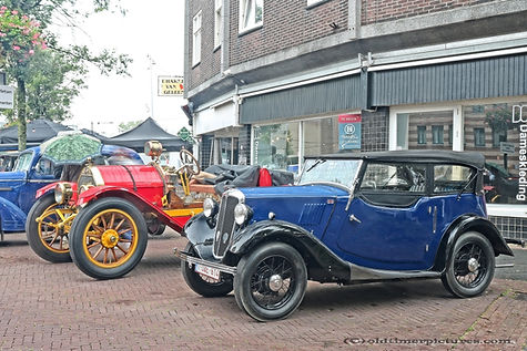 Morris S8 - 1936 - Overland Speedster - 1912