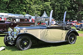 Bentley 3 1-2L 3-Position Convertible by Salmons - 1933