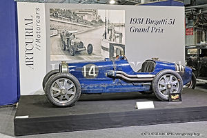 Bugatti Type 51 Grand Prix - 1931
