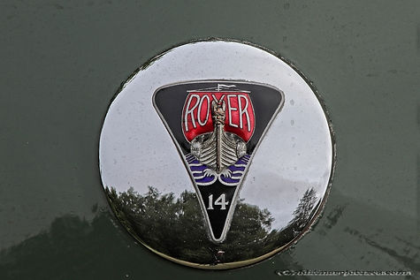 Rover 14 HP Sports Saloon - 1946
