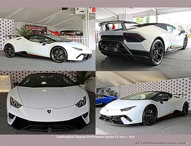 2019-Lamborghini Huracán Performante Spyder LP 640-4