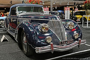 Lancia Astura Pininfarina - 1938