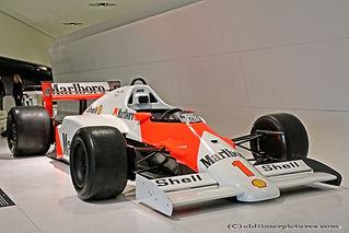 McLaren-Porsche F1 1986 Alain Prost