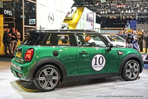Mini-Cooper S 10 Millionth car