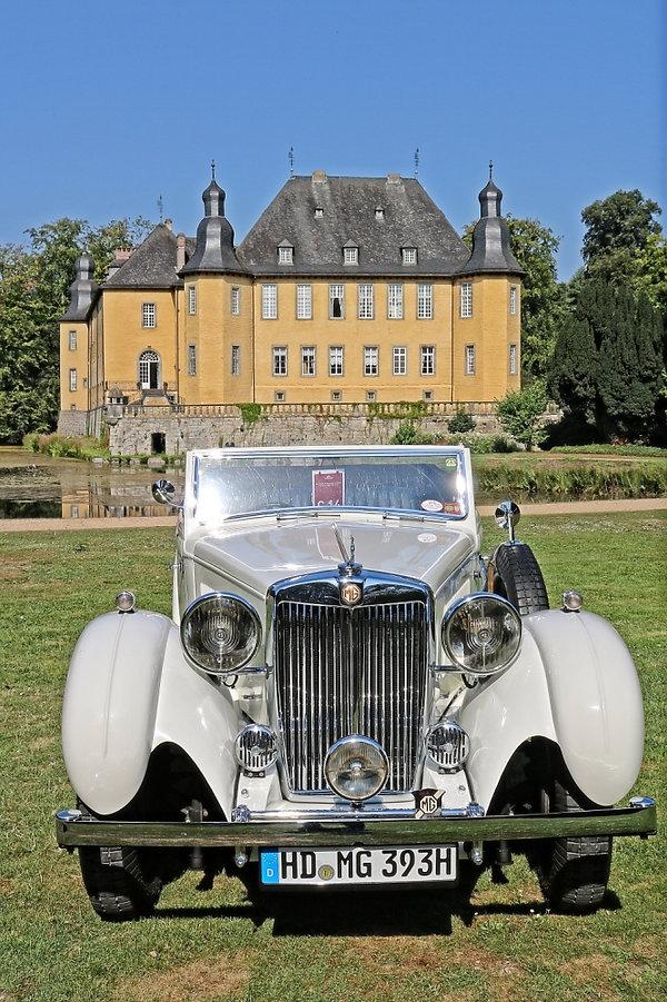 Schloss Dyck MG SA Tickford - 1938