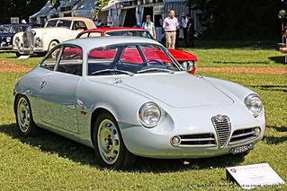 Alfa Romeo Giulietta SZ - 1960