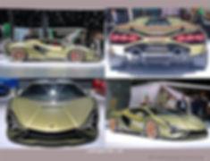 2020-Lamborghini Sián