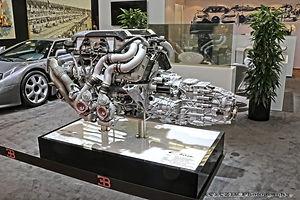 Bugatti Chiron moteur 8l-16cyl