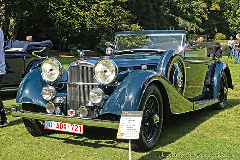 Alvis Speed 25 DHC by Charles Worth - 1936
