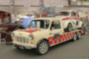 Mini-Cooper Transporter met Abarth 600